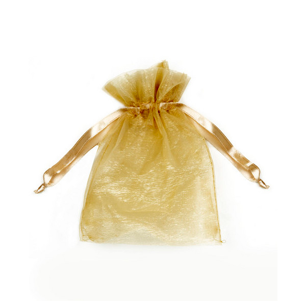 Gold Organza Pouch, Luxe Mini Kit | Radiant Glow